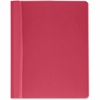 "Business Source Report Cover - Letter - 8 1/2"" x 11"" Sheet Size - 100 Sheet Capacity - 3 x Prong Fastener(s) - Red - 25 / Box"