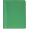 "Business Source Report Cover - Letter - 8 1/2"" x 11"" Sheet Size - 100 Sheet Capacity - 3 x Prong Fastener(s) - Green - 25 / Box"