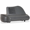 "Business Source Electric Hole Punch - 3 Punch Head(s) - 30 Sheet Capacity - 1/4"" Punch Size - Gray"