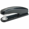 "Business Source Desktop Stapler - 20 Sheets Capacity - 210 Staple Capacity - Full Strip - 1/4"" Staple Size - Black"