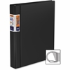 "Stride Deluxe QuickFit Commercial D-Ring Binder - 1"" Binder Capacity - Letter - 8 1/2"" x 11"" Sheet Size - 250 Sheet Capacity - 3 x D-Ring Fastener(s) - 2 Inside Front & Back Pocket(s) - Polyvinyl Chlo"