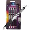 Uni-Ball Impact RT Gel Pen - Refillable - Black Gel-based Ink - 4 / Pack