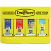 "Lil' Drug Store First Aid Kit - 11"" Height x 15.3"" Width x 2.5"" Depth - Plastic Case - 1 / Each"