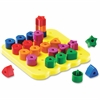 Learning Resources Stacking Shapes Pegboard - Theme/Subject: Learning - Skill Learning: Sorting, Stacking, Creativity, Shape