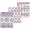 """Mead Pretty Please Notebook 80 CT College Ruled - 80 Sheets - Printed - Twin Wirebound 9"""" x 10.50"""" - White Paper - Assorted Cover - Poly Cover - 1Each"""