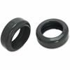 Lorell Caster Tire Floor Savers - Gray - Vinyl - 10/Pack