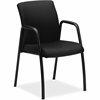 "HON Ignition Seating Series Guest Chairs - Steel Frame - Four-legged Base - Black - 19"" Seat Width x 18"" Seat Depth - 24"" Width x 22"" Depth x 34.5"" Height"