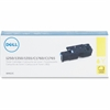 Dell Original Toner Cartridge - Yellow - Laser - 1400 Page - 1 Each