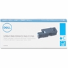 Dell Original Toner Cartridge - Cyan - Laser - 1400 Page - 1 Each