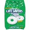 Wrigley Life Savers Wint-O-Green Mint - Wintergreen - Individually Wrapped - 3.12 lb - 1 / Bag