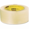 "Scotch 371 Box-Sealing Tape - 1.88"" Width x 109.30 yd Length - 3"" Core - Synthetic Rubber Resin - Polypropylene Film Backing - Adhesive, Durable, Pressure Sensitive - 36 / Carton - Clear"