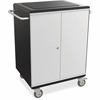 "Balt A La Cart Tablet Cart - 2 Shelf - 6 Casters - 4"" Caster Size - Steel, Plastic - 31.8"" Width x 20.1"" Depth x 36.8"" Height - Gray - For 32 Devices"