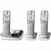 Panasonic KX-TGD223N DECT 6.0 1.90 GHz Cordless Phone - Champagne Gold - Cordless - 1 x Phone Line - 2 x Handset - Speakerphone - Answering Machine - Hearing Aid Compatible - Backlight