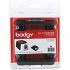 Evolis Badgy100 & 200 Black Ribbon - Thermal Transfer - 500 Card - 1 Each