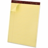 "Ampad Gold Fibre Premium Rule Writing Pads - 50 Sheets - Watermark - Stapled/Glued - 16 lb Basis Weight - Letter 8.50"" x 11.75"" - Canary Yellow Paper - 1Dozen"