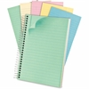 """Pastel Wirebound Notebook - 130 Sheets - Printed - Twin Wirebound - 20 lb Basis Weight - 7"""" x 5"""" - Assorted Paper - 1Each"""