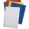 "TOPS 1-Subject Wirebound Notebook - 100 Sheets - Printed - Wire Bound - 15 lb Basis Weight - Letter 8.50"" x 11"" - White Paper - Assorted Cover - 1Each"