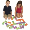 WonderFoam Dominoes Set - Skill Learning: Matching, Counting - 28 Pieces
