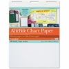 "Pacon Heavy-duty Anchor Chart Paper - 25 Sheets - Plain - 27"" x 34"" - White Paper - 4 / Carton"