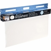 "Quartet® Anywhere™ Dry-Erase Sheets - 480"" (40 ft) Length - White - Wall Mount - 15 / Each"