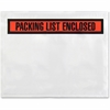 "Sparco Pre-labeled Packing Slip Envelope - Packing List - 7"" Width x 5.50"" Length - 70 g/m² - Self-adhesive Seal - Paper, Low Density Polyethylene (LDPE) - 1000 / Box - White"