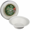StalkMarket Sugarcane Fiber Disposable Bowls - 11.5 fl oz Bowl - Sugarcane Fiber - Disposable - Microwave Safe - 300 Piece(s) / Carton