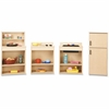 young Time - 4-piece Play Kitchen Set - Wood
