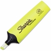 Sharpie Clear View Highlighter - Chisel Point Style - Fluorescent Yellow - 1 Each