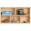 "young Time 2-shelf Open Storage Unit - 2 Compartment(s) - 26.5"" Height x 48"" Width x 12"" Depth - Baltic - 1Each"