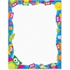 """Trend Owl-Stars Collection Terrific Papers - Printed - Letter 8.50"""" x 11"""" - Assorted Paper - 50 / Pack"""