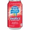 Pure Life Exotics Dragon Fruit Sparkling Water - Dragon Fruit Flavor - 12 fl oz - Can - 8 / Box