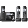 Panasonic KX-TGF343B DECT Cordless Phone - Black - Cordless - 1 x Phone Line - Speakerphone - Answering Machine - Hearing Aid Compatible