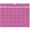 """At-A-Glance Color Play Wall Calendar - Julian - Daily, Monthly - 1 Year - January 2017 till December 2017 - 1 Month Single Page Layout - 1.68"""" x 2"""" Purple - Wire Bound - Wall Mountable - Reference Cal"""