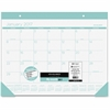 At-A-Glance Color Play Deskpad - Julian - Daily, Monthly - 1 Year - January 2017 till December 2017 - 1 Month Single Page Layout - Desk Pad - Teal - Built-in Planner, Reference Calendar, Durable