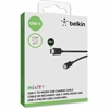 Belkin 2.0 USB-C to Micro USB Charge Cable - USB for MacBook, Hard Drive, Smartphone, Camera, Tablet - 60 MB/s - 6 ft - 1 Pack - 1 x Type C Male USB - 1 x Male Micro USB - Black