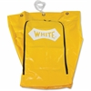 Impact Products Janitor's Cart Replacement Bag - 25 gal - Yellow - Vinyl - 1Each - Janitorial Cart