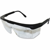Impact Products Adjustable Safety Eyewear - Visibility Protection - Black, Clear - 12 / Box