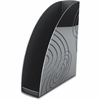 CEP Magazine Rack - Black - Polystyrene - 1 Each