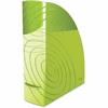 CEP Magazine Rack - Green - Polystyrene - 1 Each