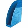 CEP Boxer Magazine Rack - Ocean Blue - Polystyrene - 1 Each