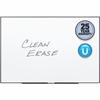 "Quartet® Fusion Nano-Clean™ Magnetic Whiteboard - 96"" (8 ft) Width x 48"" (4 ft) Height - White Surface - Black Aluminum Frame - Horizontal/Vertical - 1 / Each"