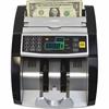 Back loading bill counter, 1000 bills/min and auto start/stop, batching 1 -999 bills, auto self test - 130 Bill Capacity - Counts 1000 bills/min - Black