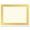 Geographics Gold Foil Certificate - Laser, Inkjet Compatible - Gold