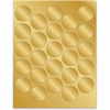 Geographics Gold Foil Seals - Self-adhesive - For Certificate, Document, Award - Bright Gold