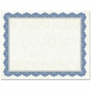 "Geographics Drama Blue Border Blank Certificates - 8.50"" x 11"" - Inkjet, Laser Compatible"