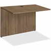 "Lorell Essentials Series Walnut Bridge - 41.4"" x 23.6"" x 29.5"" Bridge, Top - Material: Polyvinyl Chloride (PVC) Edge - Finish: Walnut, Laminate Top"