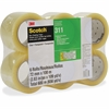 "Scotch Box Sealing Tape 311 - 2.83"" Width x 109.36 yd Length - 3"" Core - Acrylic - Polypropylene Backing - Medium Duty, Long Lasting, Easy Unwind - 24 / Carton - Clear"