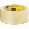 "Scotch Box-Sealing Performance Tape 371 - 2.83"" Width x 54.68 yd Length - 3"" Core - Synthetic Rubber - Polypropylene Film Backing - Long Lasting, Medium Duty - 24 / Carton - Clear"