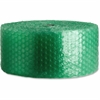 "Sparco 3/16"" Small Recycled Bubble Cushioning Roll - 12"" Width x 300 ft Length - 187.5 mil Thickness - Eco-friendly, Flexible, Lightweight - Green"