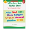 Scholastic Grade-3 240 Vocabulary Words Book Education Printed Book - Book